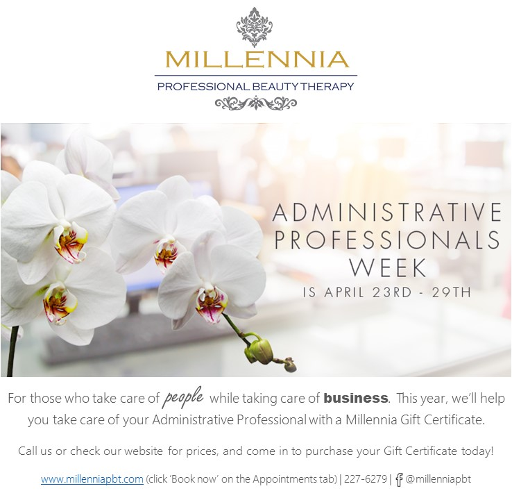 Administrative professionals millennia c3 centre post navigation published inmillennia professional admin fandeluxe Images