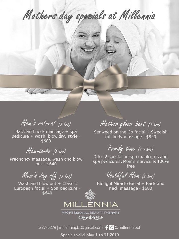 Millennia's Mother's Day 2019