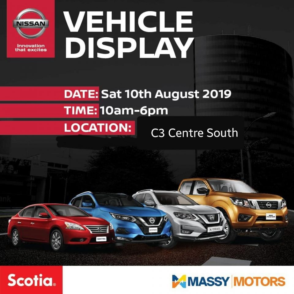Massy Motors Vehicle Display - C3 Centre